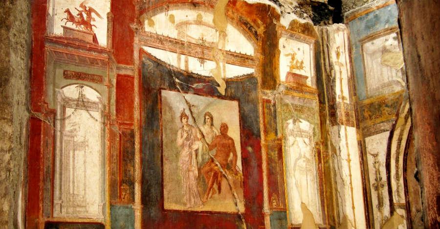 Visita guidata agli scavi di Ercolano