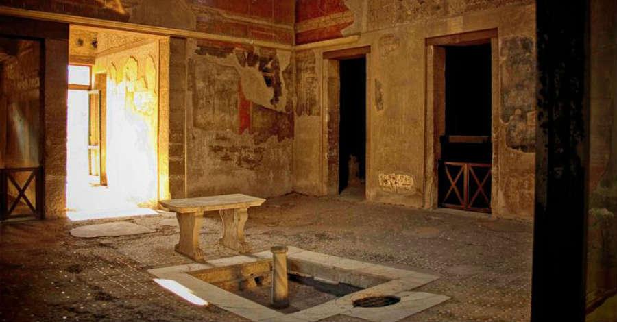 Visite serali agli scavi archeologici di Ercolano