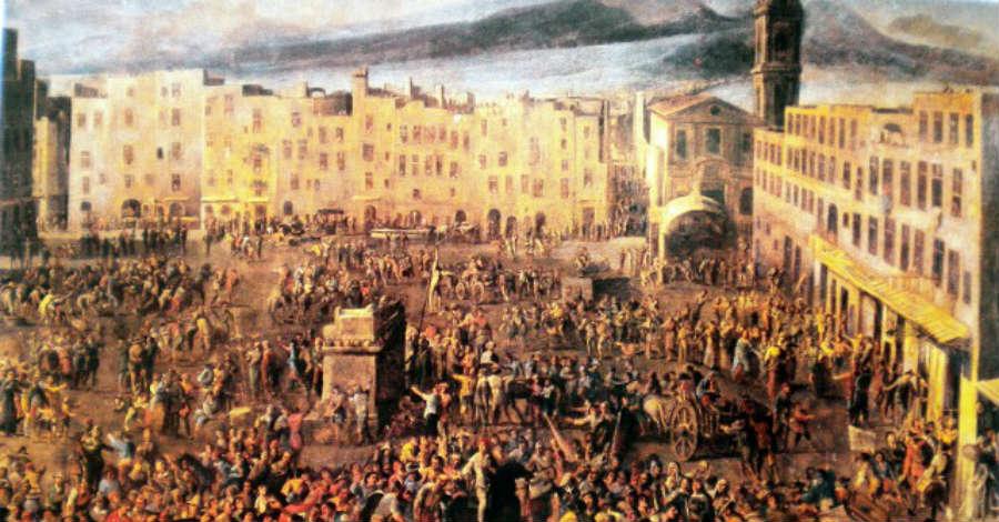 Je so pazz - sulle tracce di Caravaggio, Masaniello e Pino Daniele