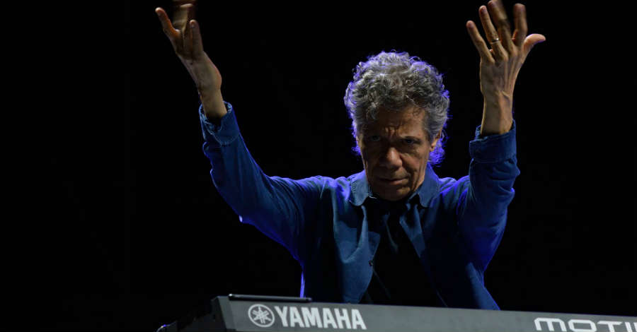 Chick Corea all'Arena Flegrea
