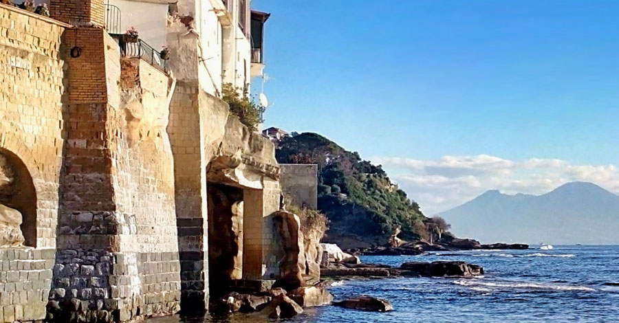 Naples Posillipo seashore