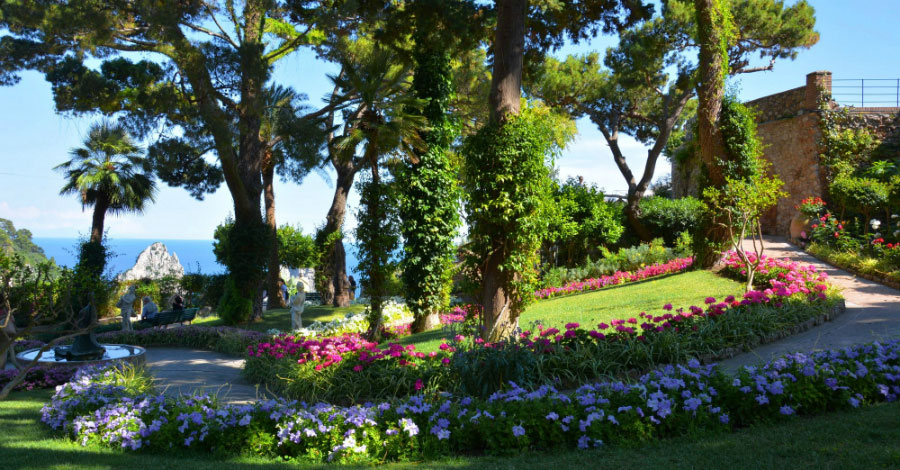 Naples Capri The Gardens of Augustus