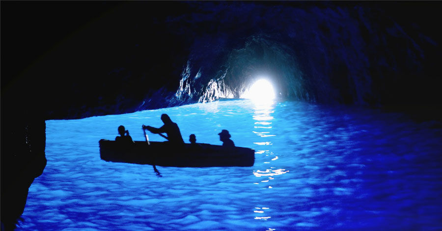 Naples Capri Blue Grotto