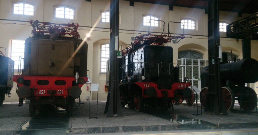 Naples National Railway Museum of Pietrarsa