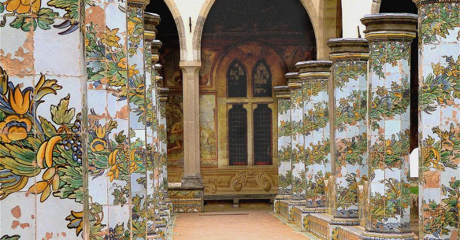 Maiolica Cloister of Santa Chiara - Naples Events 7223324bdbbf
